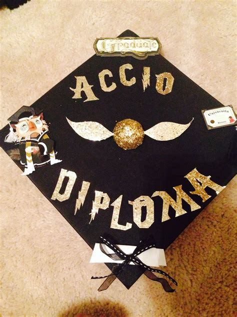 Mba Graduation Cap by My Mba Graduation Cap Harry Potter Harry