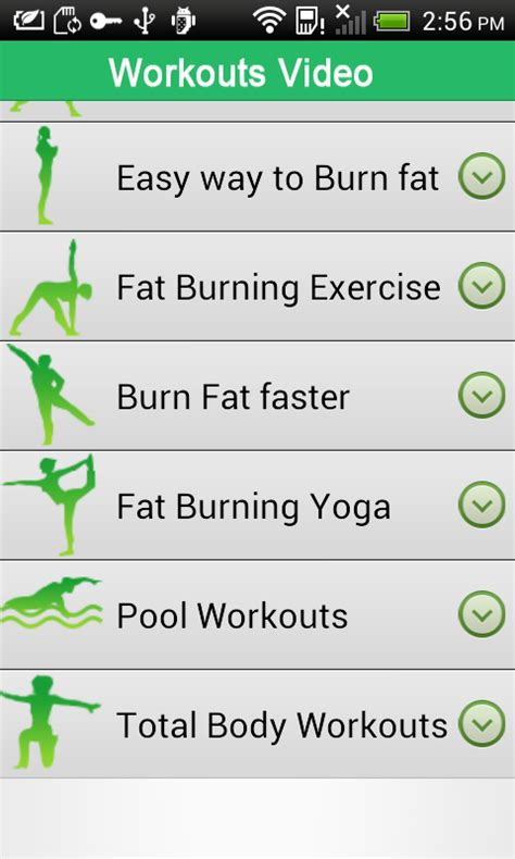 burning workouts android apps on play