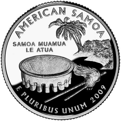 The American Quester 188 Dollar Quot Washington Quarter Quot American Samoa Silver Proof United States Numista