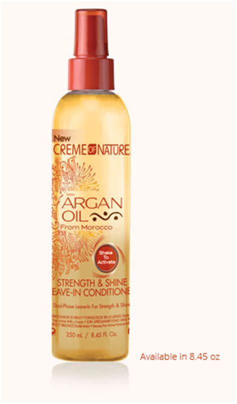 argan hair color how to leave on strength shine leave in conditioner creme of nature