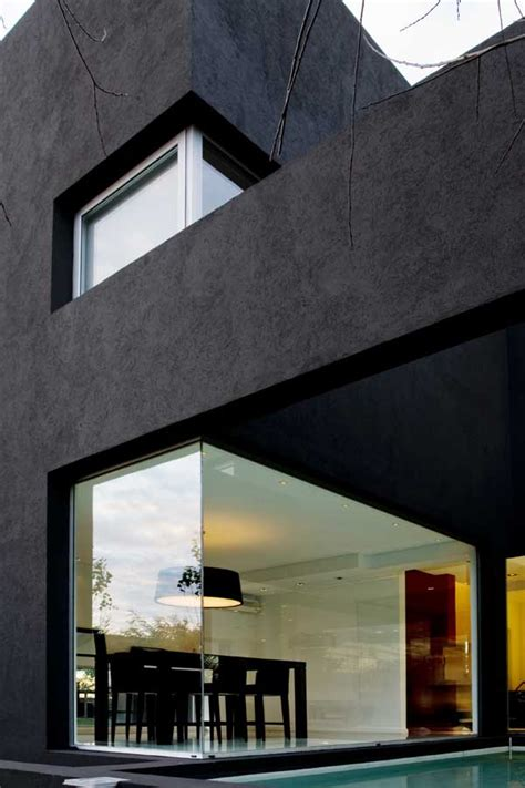 casa negra casa negra the black house argentina e architect