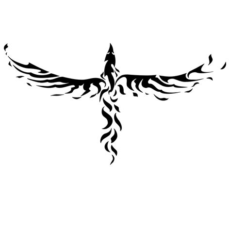 tribal phoenix back tattoo 50 tattoos designs
