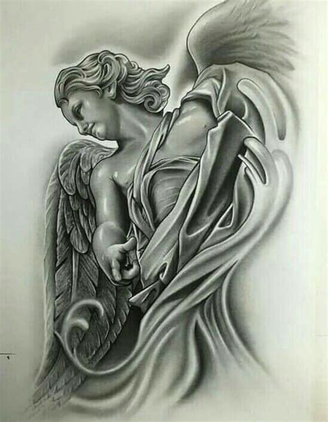 tattoo flash of angels 99 best religious tattoo reference images on pinterest