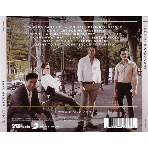 il divo cd by il divo cd with techtone11 ref 118112318