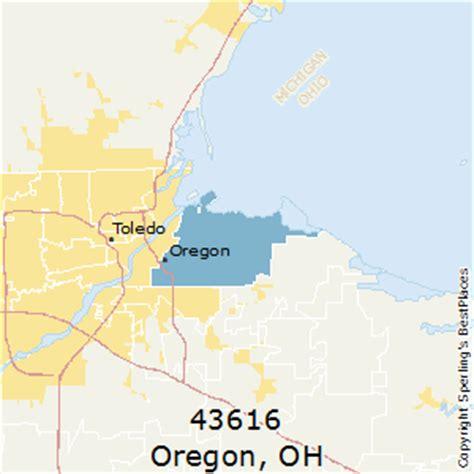 map of oregon ohio best places to live in oregon zip 43616 ohio