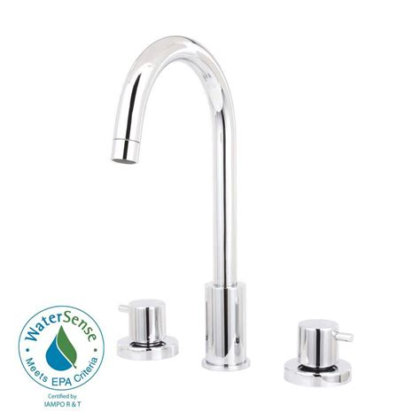 La Toscana Faucet by Latoscana Elba 8 In Widespread 2 Handle High Arc Bathroom