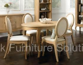 Oak Dining Table 4 Chairs Oak 4 Seater Dining Table 4 Oak Dining Chairs
