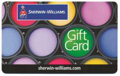 today s holiday give away from sherwin williams bob s blogs - Sherwin Williams Gift Card
