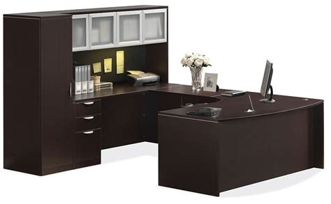 u shaped desk with hutch u shaped desk with hutch and personal cabinet