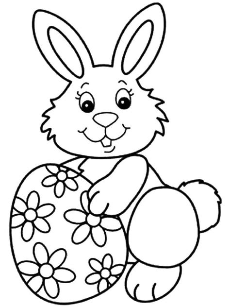 Easter Coloring Pictures by Easter Bunny Coloring Pages Free Printable Easter Bunny