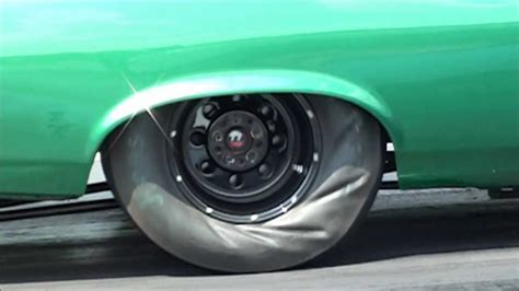 drag car slow motion launch  high definition youtube