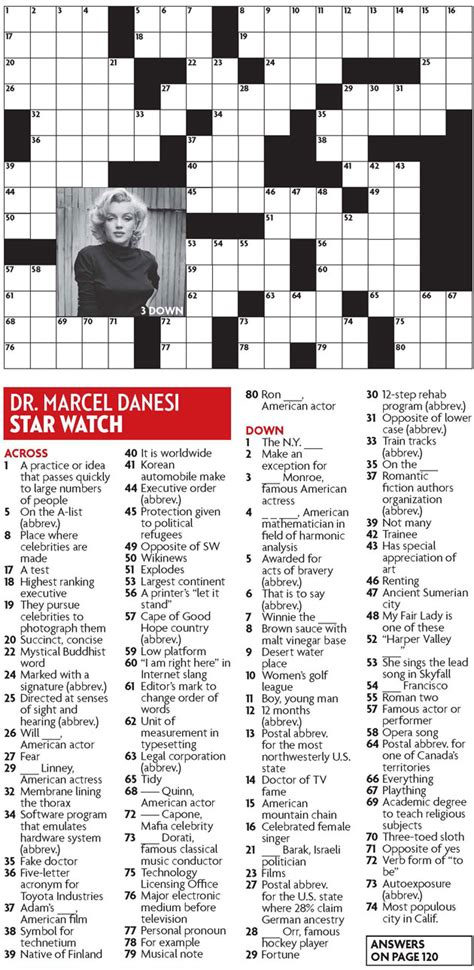 film star grant crossword clue star watch may 2013 crossword puzzle everything zoomer