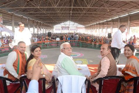 Hayyana Rejuvenation haryana chief minister manohar lal said at a rally in the