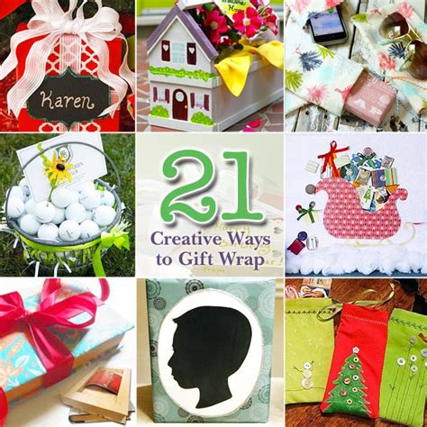 creative ways to wrap gifts 21 creative gift wrapping ideas