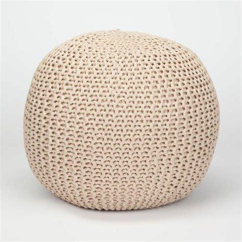 crochet pouf ottoman crochet pouf ottoman tillys room dorm crochet