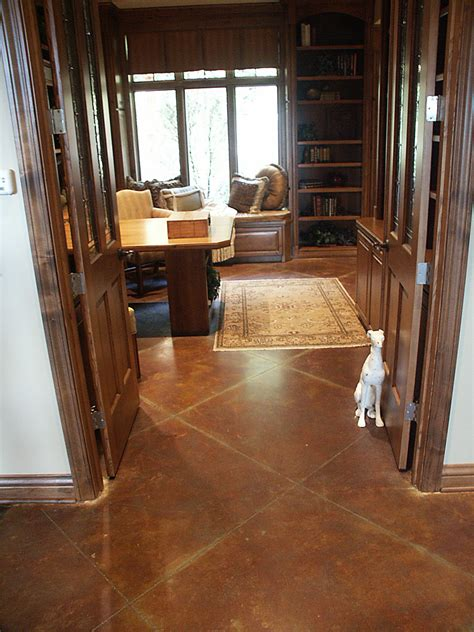 Polished Stained Concrete Floors by Concrete Polished Floor Polished Concrete Floors Seattle
