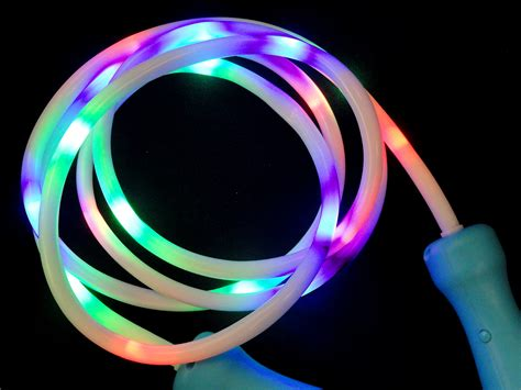 light up jump 100 quot light up led jump and club toy