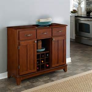 cherry sideboard buffet medium cherry buffet with wood top contemporary