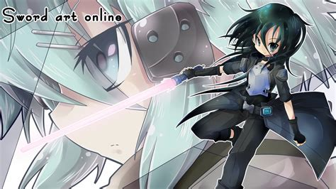 anime wallpaper hd kirito sinon and kirito gun gale 7v wallpaper hd