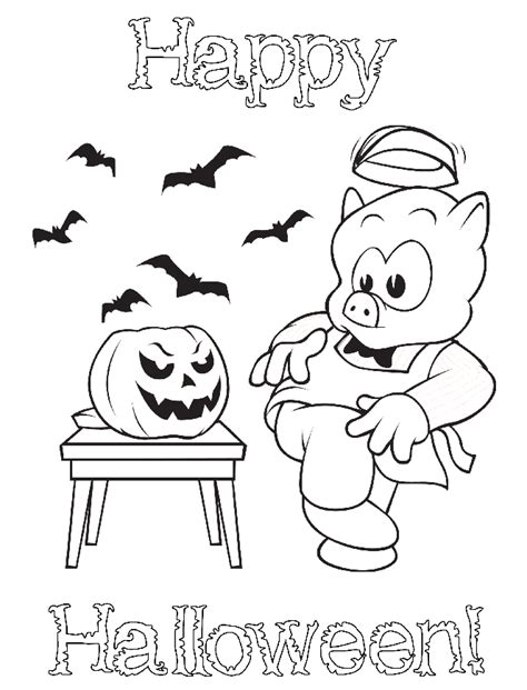wiggles halloween coloring pages happy halloween piggly wiggly