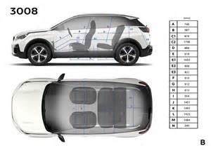 Peugeot 3008 Dimensions Peugeot 3008 Dimensions Ext 233 Rieures Et Int 233 Rieures