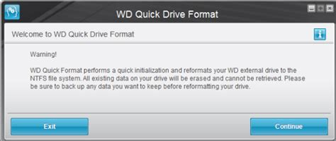 format wd external hard drive to mac how to format external drives using wd quick formatter in