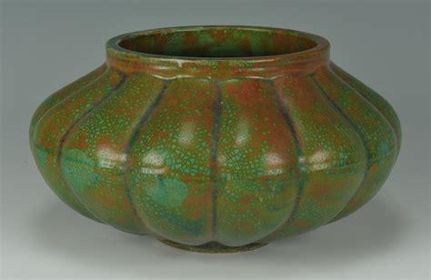 Arts Crafts Vase by Lot 281 Dunmore Scottish Arts Crafts Pottery Vase