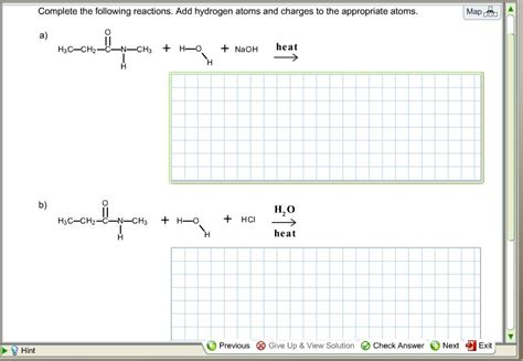 materials selection for hydrocarbon and chemical plants books complete the following reactions add hydrogen chegg