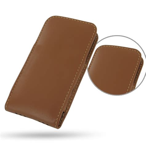 Exclusive Design Kulit For Iphone 5 5s Leather Black Or Brown iphone 5 5s leather sleeve pouch brown pdair flip wallet