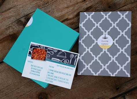 hp printable recipe cards diy recipe card cookbook myprintly com