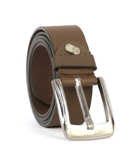 State Leather Price Comparison On State Leather At State Leather House Brown Formal Belt Buy At Low Price In India Snapdeal