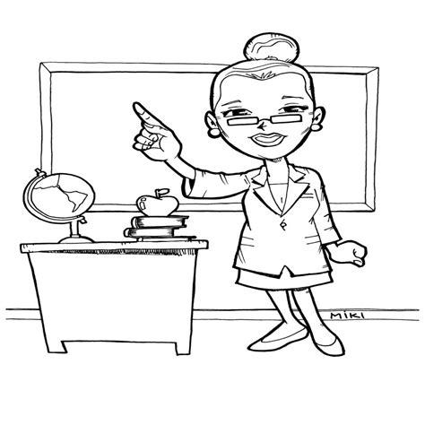 maestra de infantil el invierno dibujos para colorear maestra infantil para colorear dibujos de maestra para