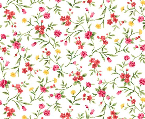 floral pattern artwork watercolor floral seamless background vector art