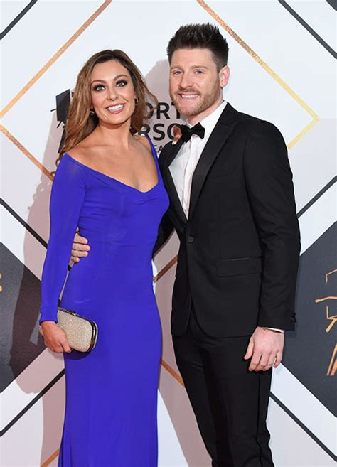 strictly star amy dowdens fiance  join