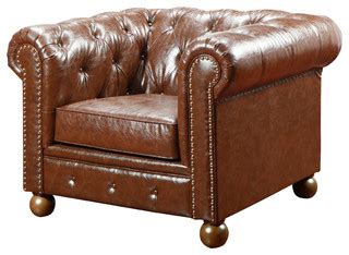 traditional sofas and armchairs winston bonded leather sofa chair traditional
