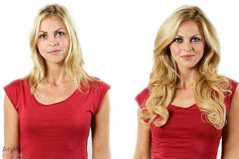 hair extensions before and after thin hair hot girls hair extensions before after images medium and short hair