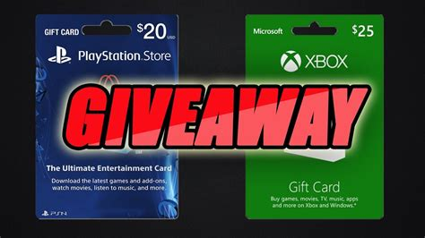 Xbox 20 Gift Card - psn xbox steam 20 gift card giveaway 400 subs youtube