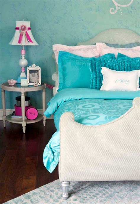 turquoise bedrooms pink and blue scheme archives panda s house 3 interior decorating ideas
