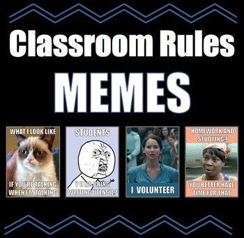 Classroom Rules Memes - the 25 best classroom rules memes ideas on pinterest