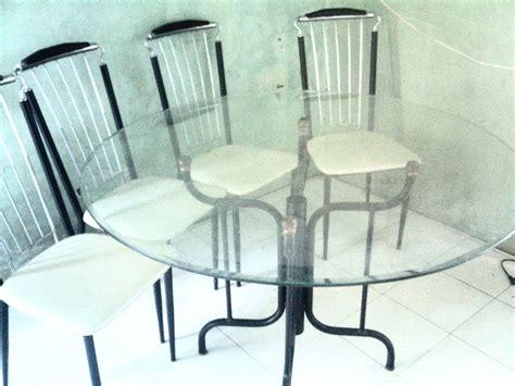 Kaca Untuk Meja Makan gambar harga meja makan kaca dan jual meja makan kaca