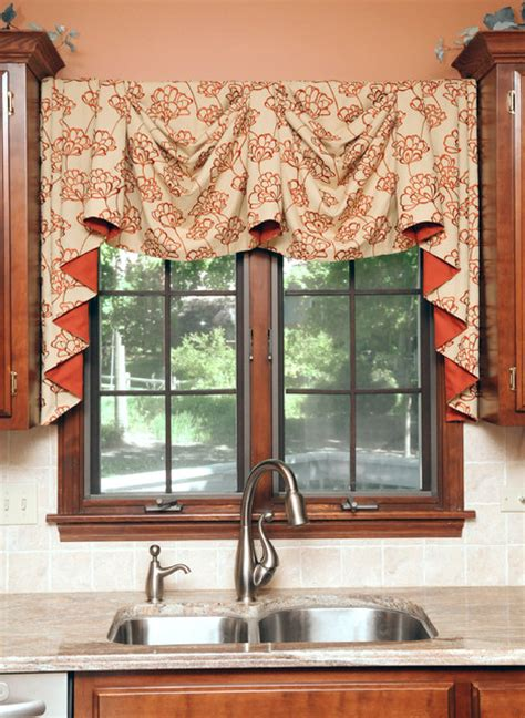 kitchen valances modern kitchen modern curtains chicago by beyond blinds inc