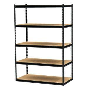 Home Depot Racks by Gorilla Rack 5 Shelf 48 In X 24 In X 72 In Freestanding