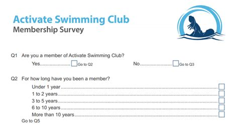 Sle Surveys Snap Surveys Membership Surveys Templates