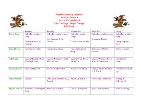 toddler lesson plans on pinterest weekly calendar