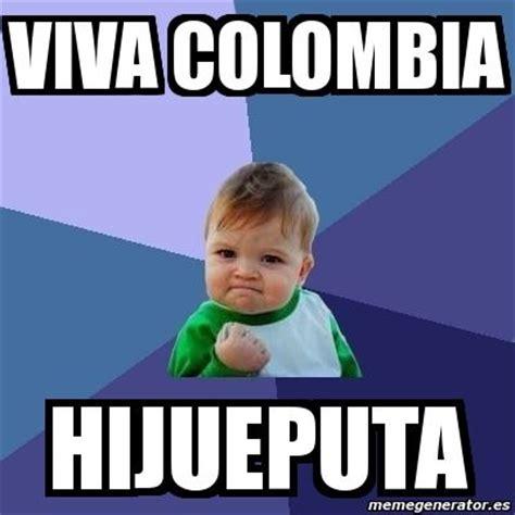 Colombian Memes - meme bebe exitoso viva colombia hijueputa 1229001 futbol soccer pinterest bebe meme