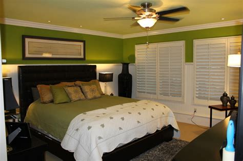 bedroom wainscoting wainscoting and beadboard traditional bedroom orange