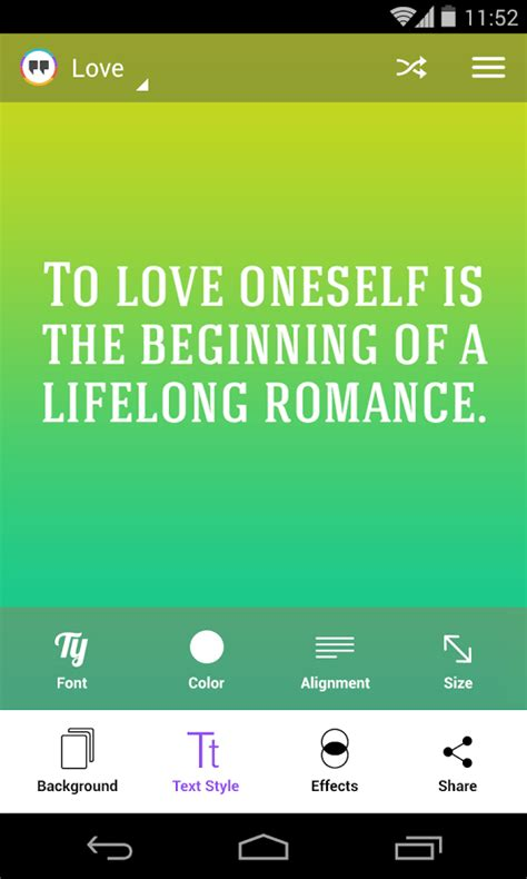 app design quotation android create and share your own picture quotes with