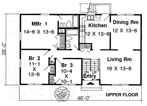 One Story Country House Plans House Plan 34679 At Familyhomeplans Com