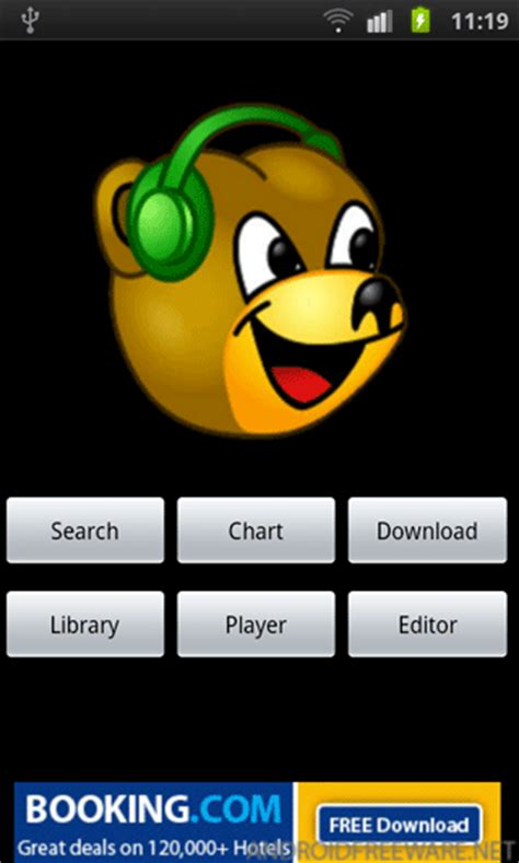 bearshare for android bearshare beta free android app android freeware