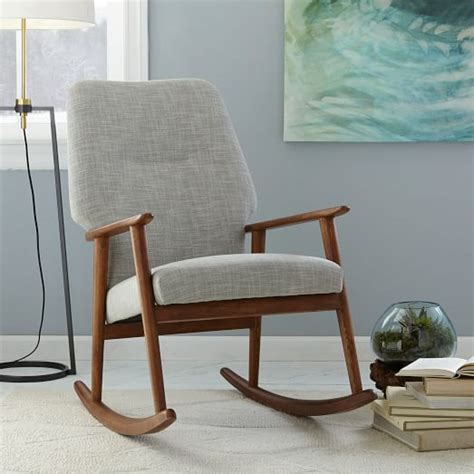 bedroom rocking chairs high back rocking chair west elm